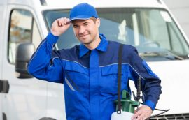 pest exterminators essex technician at work