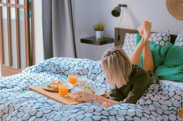 breakfast in bedroom