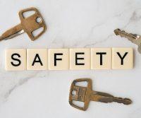 safety sign keys